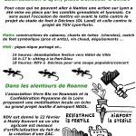 Manif de Roanne et Lyon du 22 fevrier