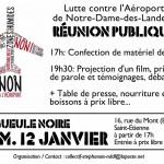 Réunion publique du 12 janvier 2013