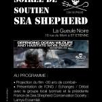 Soirée de soutien Sea Shepherd à St Etienne