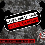 LOVE MUAY THAI HATE RACISM