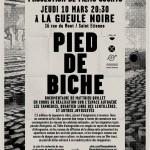 affiche pdb Saint Étienne - la Gueule Noire