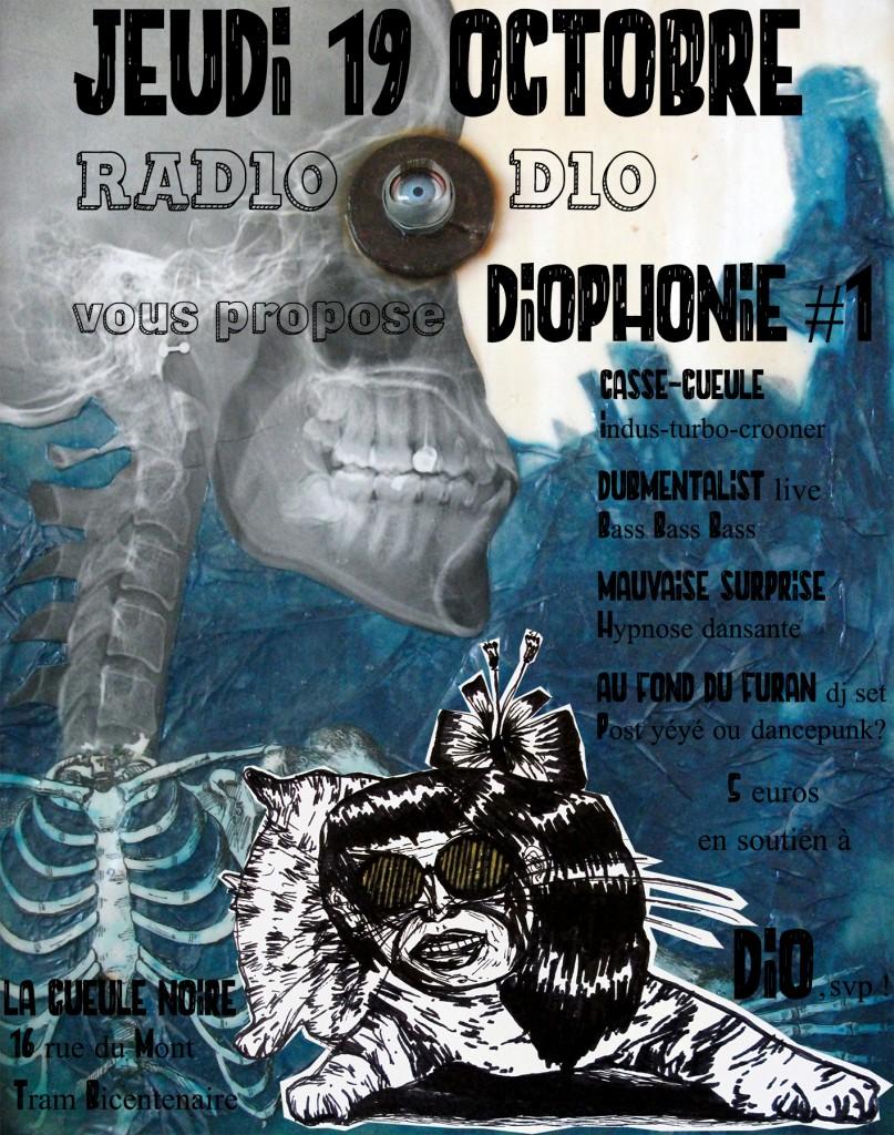 affiche radiodio