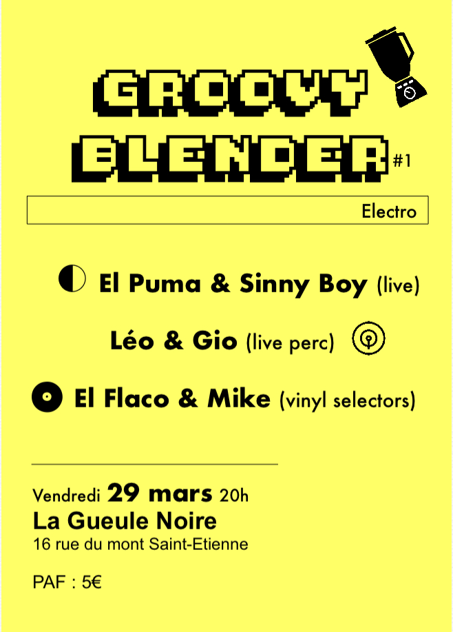 groovy blender